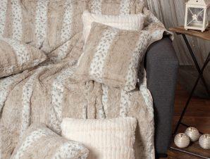 Γούνινο Ριχτάρι Διθέσιου (180×250) Silk Fashion Lynx