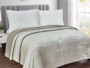 Γούνινο Ριχτάρι Πολυθρόνας (180×180) Silk Fashion Stripe Grey