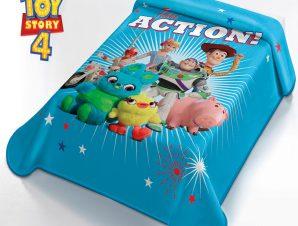 Κουβέρτα Βελουτέ Μονή Disney Ισπανίας Belpla Toy Story