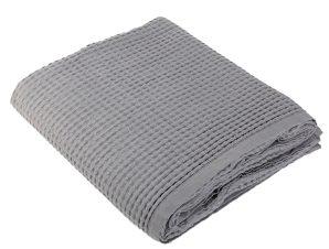 Κουβέρτα Πικέ Μονή Nef-Nef New Golf Silver
