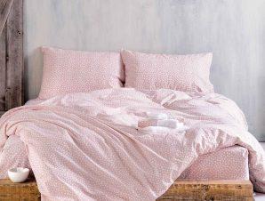 Κουβερλί Υπέρδιπλο (Σετ) Rythmos Symbol Cute Pink
