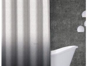Κουρτίνα Μπάνιου (240×185) Guy Laroche Mykonos Anthracite