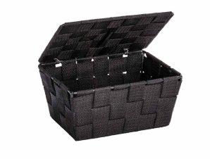 Κουτί Αποθήκευσης (19x14x10) Wenko Adria Black 22197100