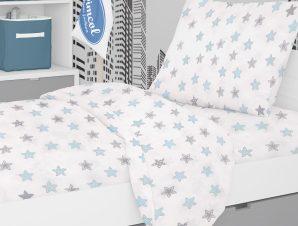 Παιδική Μαξιλαροθήκη Dimcol Star 104 Sky Blue