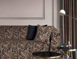 Ριχτάρι Τριθέσιου (180×300) Greenwich Polo Club 2765 Beige – Black