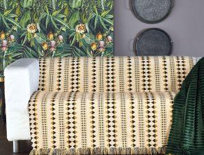 Ριχτάρι Τριθέσιου (180×300) Kentia Stylish Edgar 25 Golden Yellow/Brown