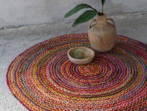 Στρογγυλό Χαλί Καλοκαιρινό (Φ150) Nima Carpets Cookie