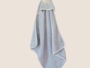 Κάπα Βρεφική Little Star Grey Melinen 0-2 ετών