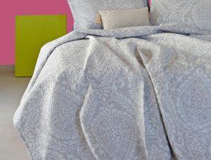 Κουβερλί Madison Light Grey Melinen Μονό