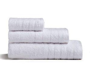 Πετσέτα Fresca White Melinen Προσώπου