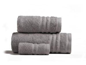 Πετσέτες Premio Σετ 3τμχ Light Grey Melinen Σετ Πετσέτες