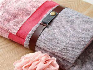 Πετσέτες Fandago Σετ 2τμχ Pink Palamaiki Σετ Πετσέτες 70x140cm