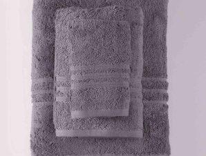 Πετσέτα Προσώπου Aria 1 Grey Ρυθμός Προσώπου 50x90cm