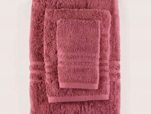 Πετσέτα Σώματος Aria 10 Bordo Ρυθμός Σώματος 75x150cm