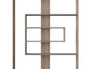 Βιβλιοθήκη-Ραφιέρα Joly 150x22x173,6cm Grey Oak 881-00-001