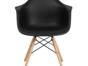Καρέκλα Casual 65x64x79cm Black 630-00-005