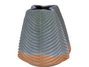 Βάζο Διακοσμητικό 20cm Veraman 1-0027-82-002 Etiquette Κεραμικό