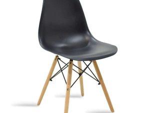 Καρέκλα Julita 029-000035 46x50x82cm Black Oak