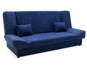 Καναπές-Κρεβάτι Με Αποθηκευτικό Χώρο Tiko Τριθέσιος 078-000008 200x85x90cm Blue