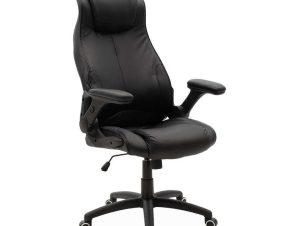 Πολυθρόνα Γραφείου Διευθυντική Ammon 033-000014 68x73x119-126cm Black