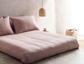 Κουβερτόριο Meche Pink 989A/17 Gofis Home Υπέρδιπλo 230x250cm