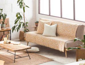 Ριχτάρι Simone 458/04 Mustard Gofis Home Πολυθρόνα 180x180cm