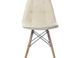 Καρέκλα 047-6102 Cozy 43x43x85cm Ecru Artekko