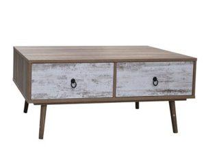 Τραπέζι Σαλονιού Με Συρτάρια 709-3215 100x51x39.20cm Multi Artekko
