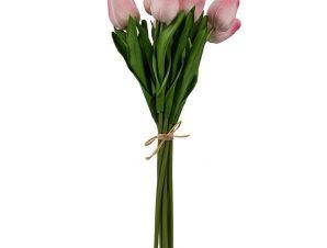 Τεχνητές Τουλίπες Μπουκέτο F29612 Pink Artekko Πλαστικό