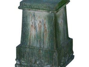 Διακοσμητική Βάση Για Κασπώ Επιδαπέδια D76861 Green Artekko Κεραμικό