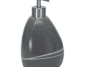 Δοχείο Κρεμοσάπουνου Stones 5080 Dark Grey Kleine Wolke