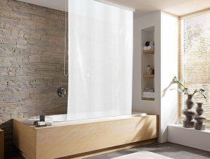 Κουρτίνα – Ρολό Ντους D-Rollo für Leerk 3321 3321109747 128x240cm White Kleine Wolke Φάρδος 120cm 128x240cm