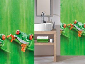 Κουρτίνα Μπάνιου Charlie 5178 May Green Kleine Wolke Φάρδος 180cm 180x200cm