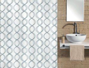 Κουρτίνα Μπάνιου Classy 5911 White Kleine Wolke Φάρδος 240cm