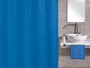 Κουρτίνα Μπάνιου Kito 4937 Azure Blue Kleine Wolke Φάρδος 180cm