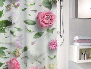 Κουρτίνα Μπάνιου Rosalie 5910 Multicolor Kleine Wolke Φάρδος 240cm
