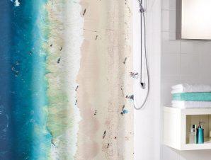 Κουρτίνα Μπάνιου Waikiki 5941 Multicolor Kleine Wolke Φάρδος 180cm 180x200cm