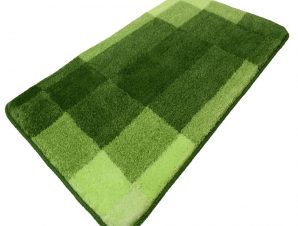 Πατάκι Μπάνιου Mix 9107 Kiwi Green Kleine Wolke X-Large