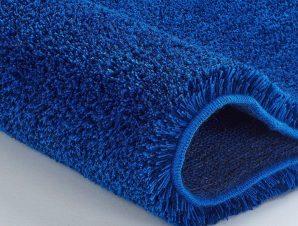 Πατάκι Μπάνιου Relax 5405 Round Atlantic Blue Kleine Wolke Large