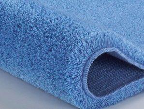 Πατάκι Μπάνιου Relax 5405 Round Azure Blue Kleine Wolke Medium