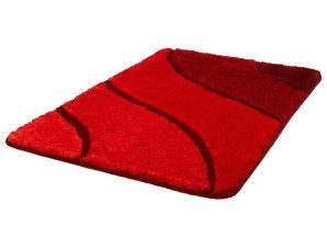 Πατάκι Μπάνιου Wave 5507 Ruby Red Kleine Wolke Medium 60x90cm
