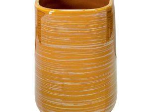 Ποτήρι Οδοντόβουρτσας Argentic 8470 7×10,5cm Yellow Gold Kleine Wolke