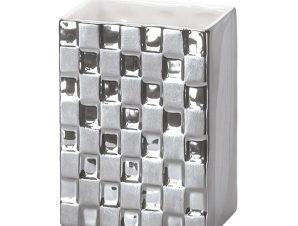 Ποτήρι Οδοντόβουρτσας Check 5845 Silver Kleine Wolke