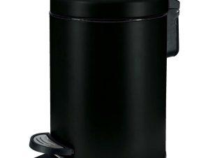 Κάδος Απορριμάτων One 8058 3Lt Black Kleine Wolke