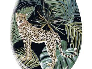 Καπάκι Λεκάνης Safari 1856 37x45cm Green Kleine Wolke