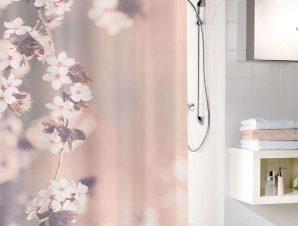 Κουρτίνα Μπάνιου Blossom 5956 Clove Kleine Wolke Φάρδος 200cm