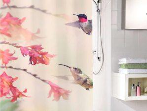 Κουρτίνα Μπάνιου Kolibri 5957 Multicolor Kleine Wolke Φάρδος 200cm
