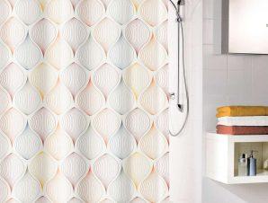 Κουρτίνα Μπάνιου Magic 5963 Multicolor Kleine Wolke Φάρδος 120cm