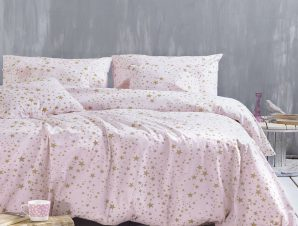 Κουβερλί Diva Estella Σετ Pink Ρυθμός Υπέρδιπλo 220x240cm