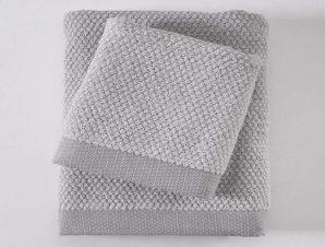 Πετσέτα Quitto Spa 02 Silver Ρυθμός Προσώπου 50x90cm